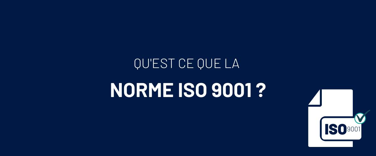 Visuel Norme ISO9001